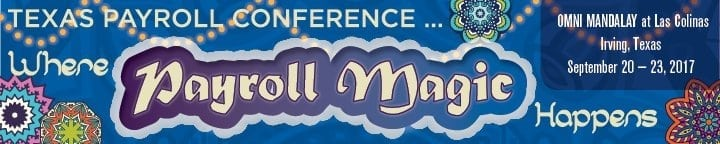 texas payroll conference 2017