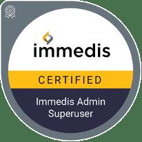 Immedis Academy Certified logo